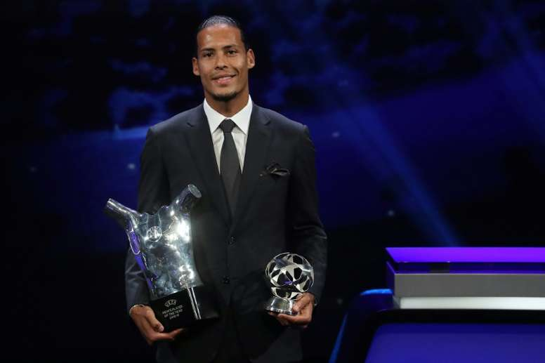 Virgil van Dijk could be this year's Ballon d'Or winner. AFP