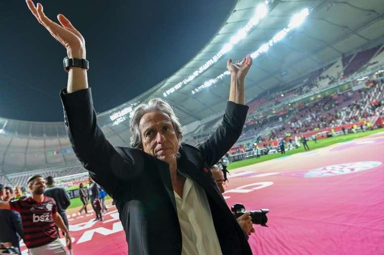 Indefinição sobre Jorge Jesus protagoniza notícias às vésperas da final do Carioca. AFP