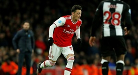 Mesut Ozil's seven-year stay at Arsenal is set to end. AFP