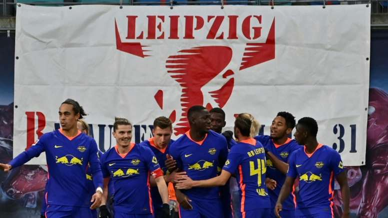 RB Leipzig have teamed up with FC Goa in India. AFP