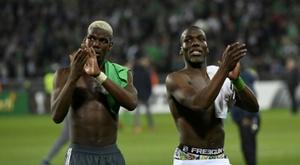 Pogba vers le FC Sochaux. AFP
