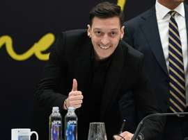 Mesut Ozil has signed a three-and-a-half year contract with Fenerbahce. AFP