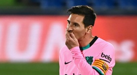Lionel Messi could need to rest after grueling match schedule. AFP