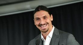 Zlatan Ibrahimovic has taken a share in Swedish club Hammarby but will not play for the team