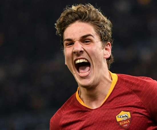 Zaniolo bags brace as Roma claim first-leg win over Porto.