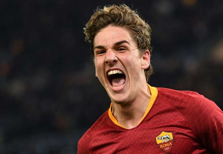 Zaniolo bags brace as Roma claim first-leg win over Porto.