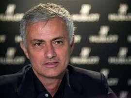 José Mourinho, motivado por chegar ao Tottenham. AFP