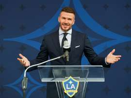 David Beckham has admitted to using his phone whilst driving. AFP