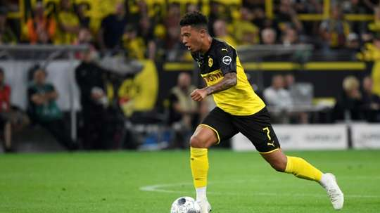 Man Utd will go after Jadon Sancho in the January transfer window. EFE