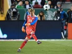 Runar Alex Runarsson has joined Dijon on a four year deal. AFP