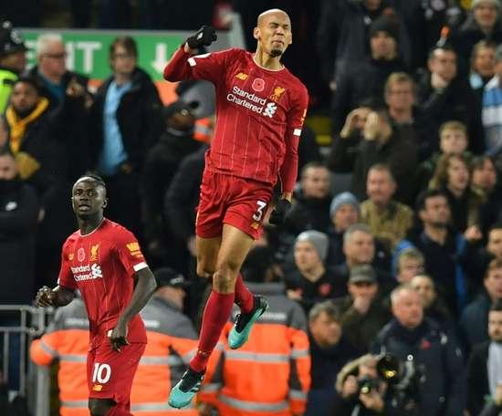 Liverpool's Fabinho burgled during Premier League title celebrations. AFP