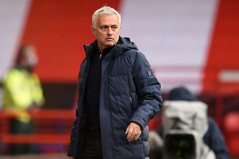 Mourinho não gostou da experiência. AFP