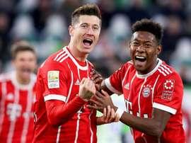 Lewandowski le dio la victoria a los suyos. EFE