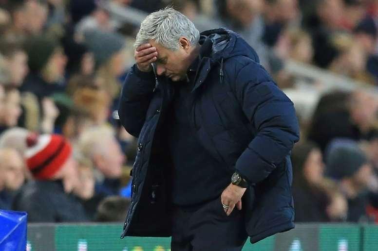 Mourinho admet que Tottenham méritait la défaite. AFP
