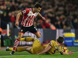Jogador tem estado em destaque no Southampton. AFP