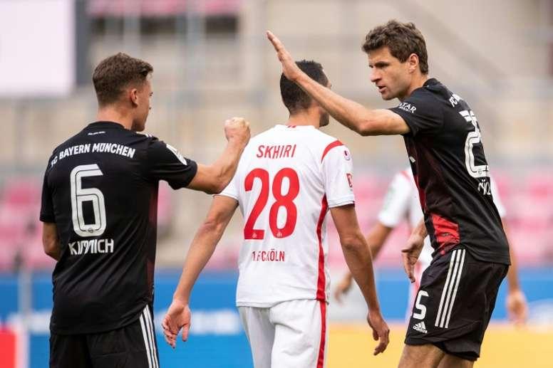 Bayern swept past Cologne. AFP