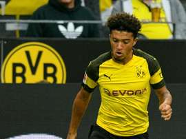 Jadon Sancho is among a small group of english talents with bright futures in the game. AFP