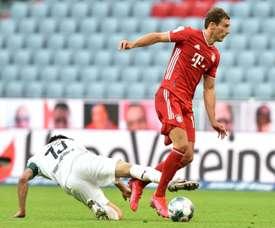 Goretzka 'overjoyed' to put Bayern within one win of Bundesliga title. AFP