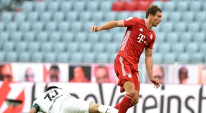 Goretzka 'overjoyed' to put Bayern within one win of Bundesliga title. AFP