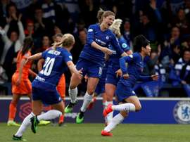Chelsea declared English women's champions on points-per-game. AFP