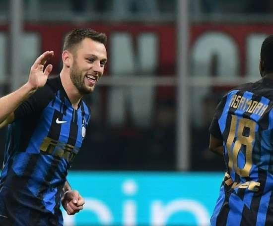 O zagueiro da Inter que estava no radar do Barcelona. AFP