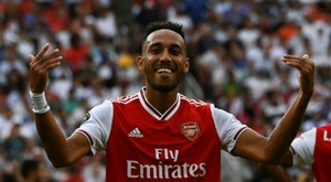 Aubameyang donne son accord au Barça. AFP