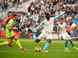 Balotelli scored twice for Marseille. AFP