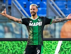 Sassuolo won again in Serie A. AFP