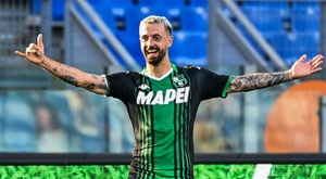 Francesco Caputo has three goals three matches into the new season. AFP