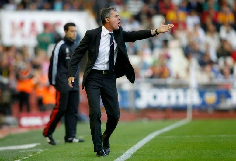 Alcaraz ha ofrecido una lista de veinte convocados de cara al partido ante el Sporting. EFE/Archivo