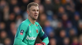 Cork is confident Hart can regain his England place. AFP