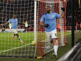 City won 1-0. AFP