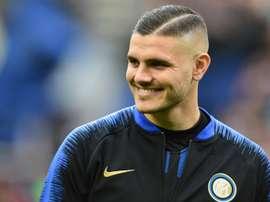 Naples espère Icardi avant jeudi. AFP