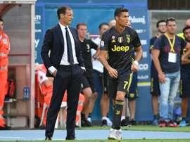 Ronaldo will start. AFP
