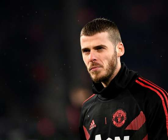David de Gea is very close to signing a new contract at United. AFP