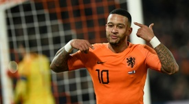 Memphis Depay is tired of racist abuse. AFP