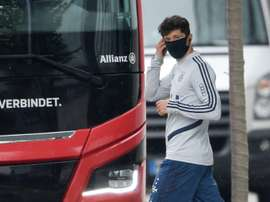 Au tour de Lewandowski. AFP