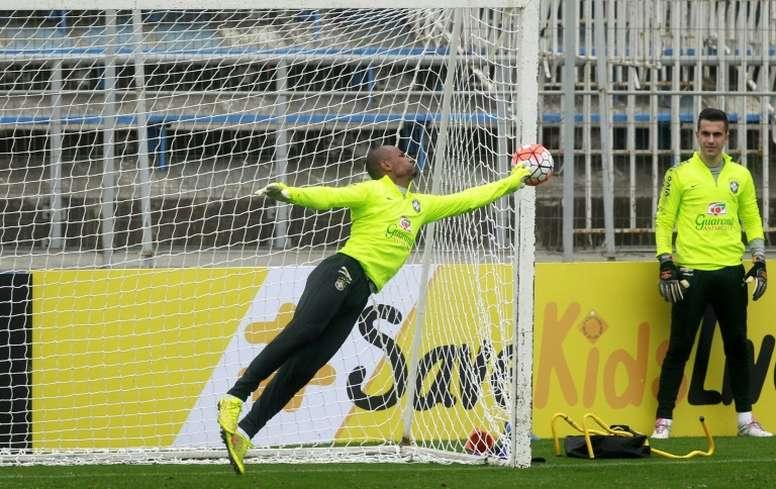 The Botafogo goalkeeper thought hed proven his quality at international level. EFE