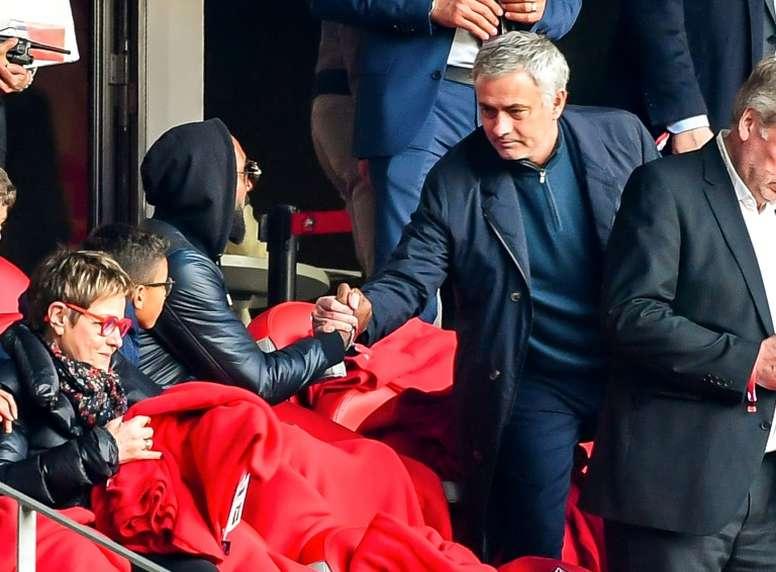 Mourinho aurait recalé l'Olympique Lyonnais. AFP