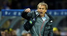 Hertha feeling 'the fire' under Klinsmann in relegation battle. AFP