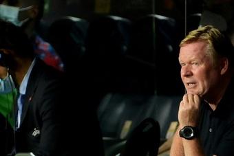 El Barcelona será paciente con Koeman. AFP