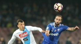 El central quiere buscar protagonismo fuera de Italia. AFP