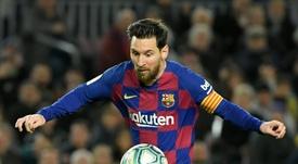 Lineker volvió a alabar a Leo Messi. AFP