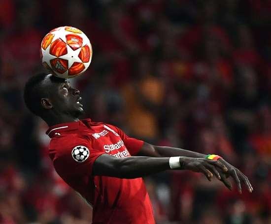 Fabinho encense Mané. AFP