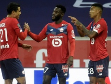 Bamba put Lille ahead but they had to settle for a share of the points against a resurgent Lyon. AFP