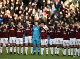 El Burnley superó al Sunderland y avanza de ronda en la FA Cup. AFP