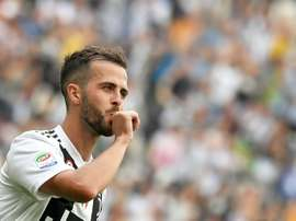 Pjanic keeps on being linked with a Barca move. AFP