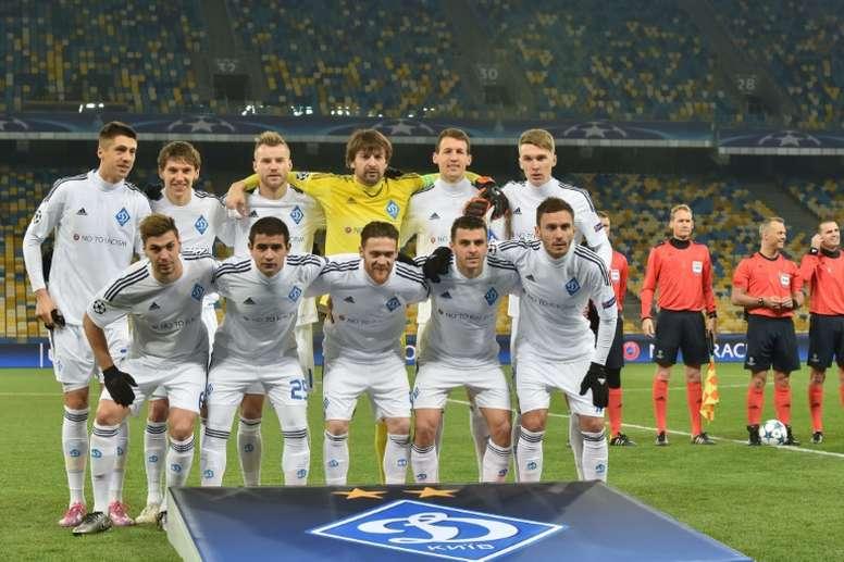El Dynamo de Kiev ha aprobado la desaparición de su filial, que competía en Segunda. Archivo/EFE/AFP