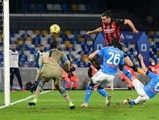 AC Milan won 3-1. AFP