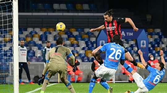 Ibrahimovic has performed incredibly at Milan. AFP